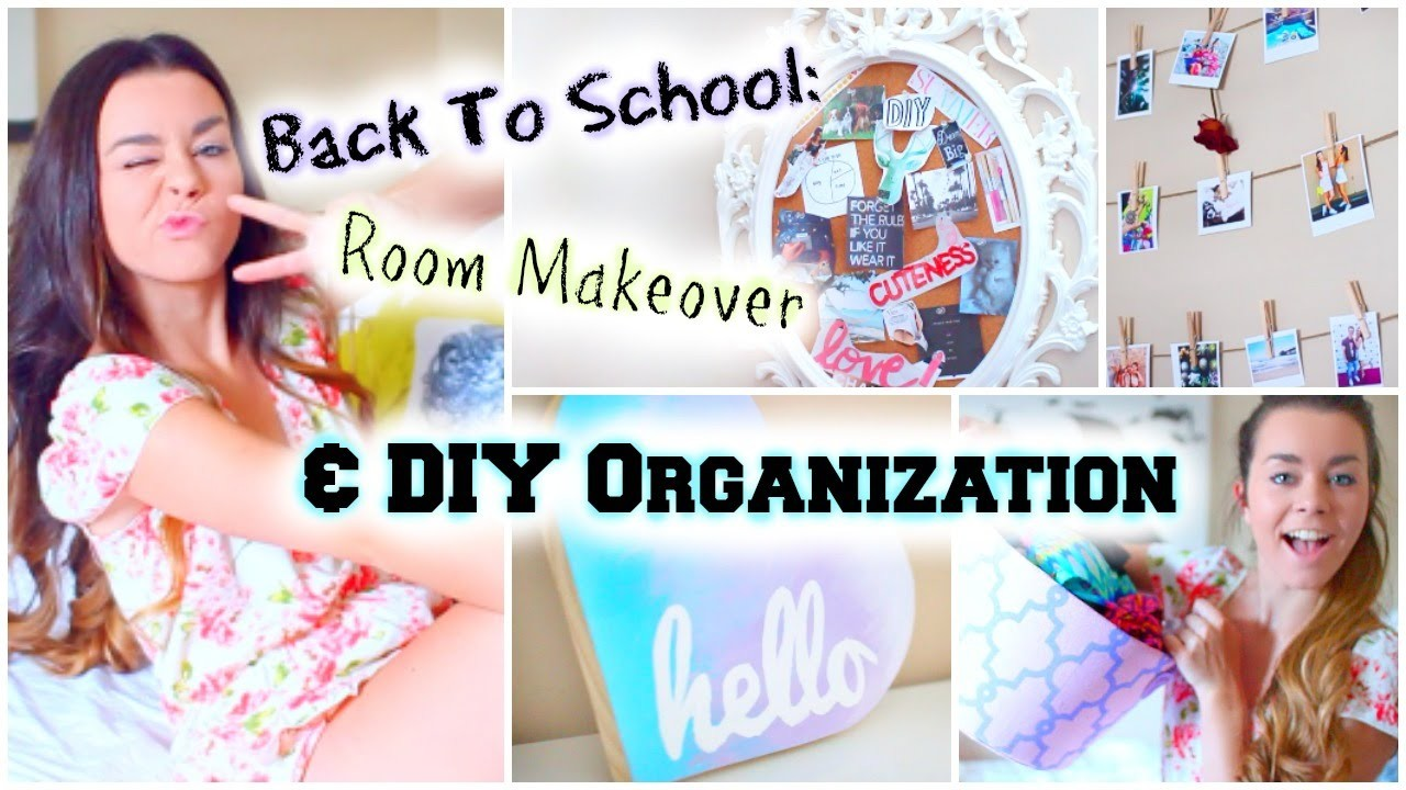 Back to School Room Makeover! DIY Organization & Decor!