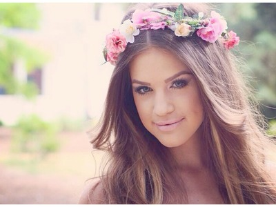 Bridal Makeup & DIY Flower Crown