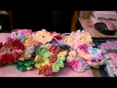 BUSINESS CARD HOLDER, CROCHET FLOWERS & SOCK MONKEY FUN!!