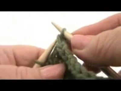 Continental Knitting Lesson #5 - BIND OFF - CAST OFF