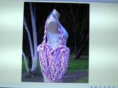 Crochet Mesh Market Bag - FREE WRITTEN PATTERN