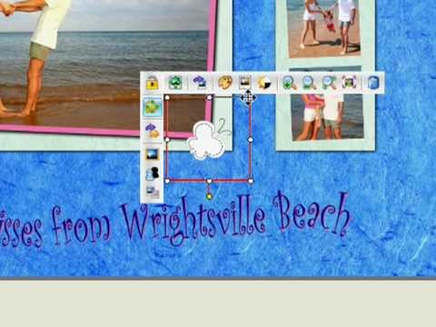 Digital scrapbooking : embellishements to decorate pages with Studio-Scrap, a scrapbook software