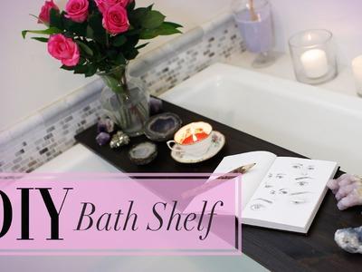 DIY Bath Decor & Shelf | Personal Spa | ANNEORSHINE