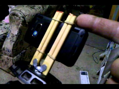 DIY Cell phone camera mount for tripod