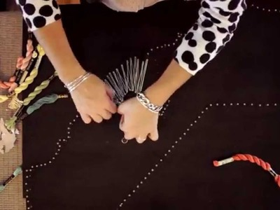 DIY Gift Ideas- Nail String Art Tutorial State