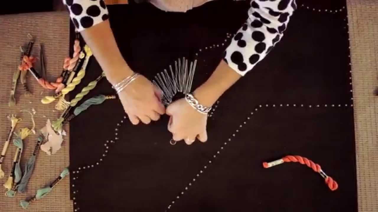 Diy Gift Ideas Nail String Art Tutorial State