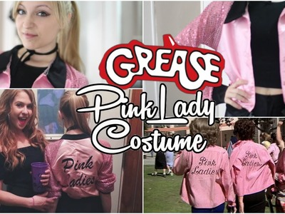 DIY | Grease Pink Lady Halloween Costume