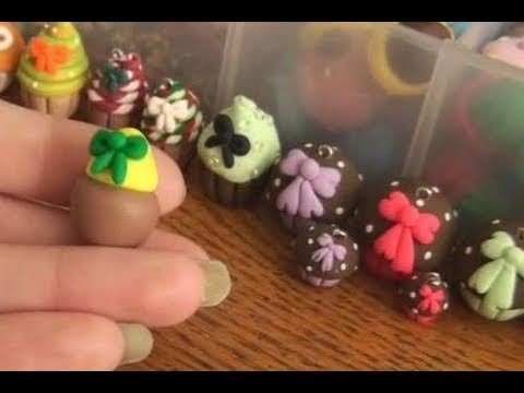 DIY: Polymer Clay Bows ((mini for decorating desserts, and such))
