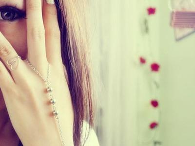DIY Slave Bracelet.Ring Wrist Bracelet