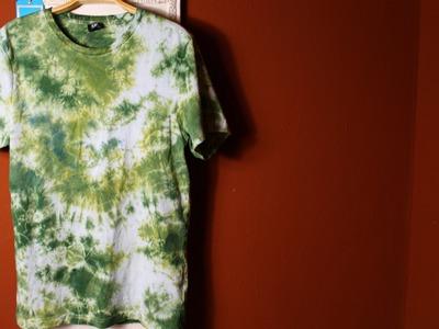 DIY Tie Dye Batik Shirt How to