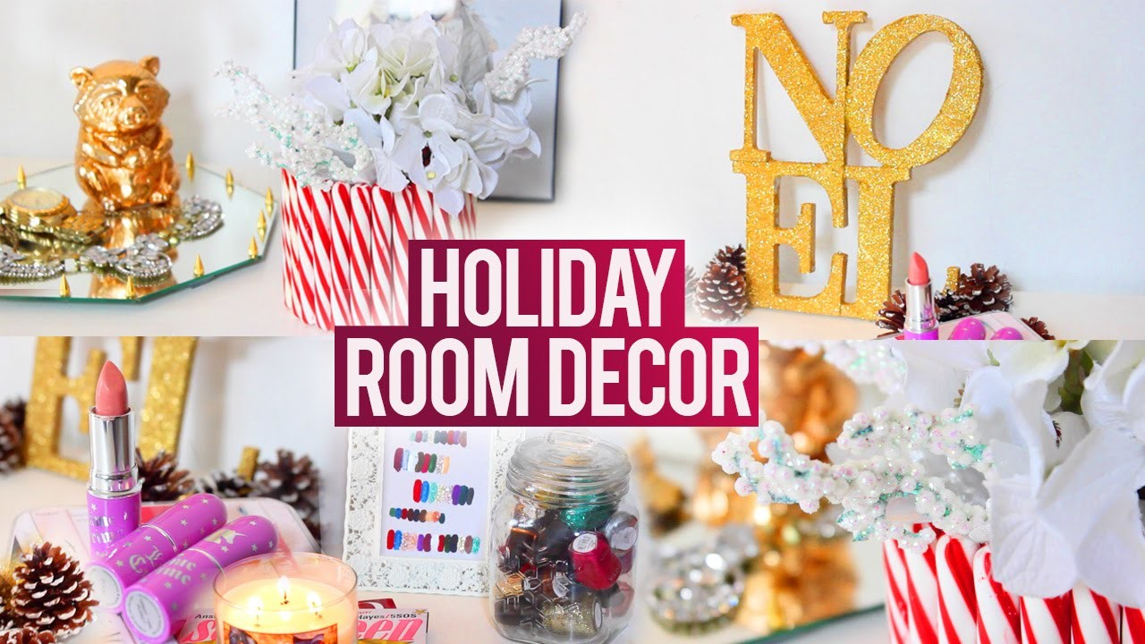 DIY TUMBLR Holiday Room Decorations ❄ Easy, Fun and Affordable!