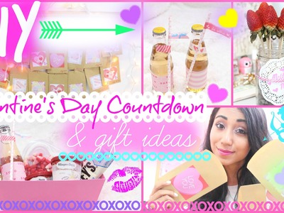 DIY Valentine's Day Gifts & Countdown | #DIYITGIRL
