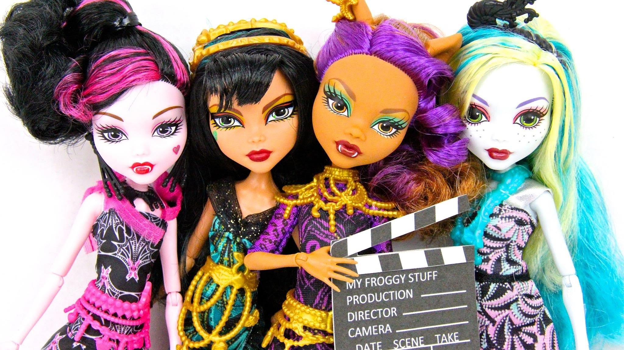 Doll Review: Monster High: Frights, Camera, Action | plus Doll Collection Updates & 2 Quick Crafts