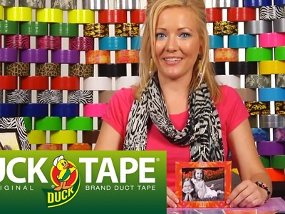 Duck Tape Craft Ideas: How to Make a Picture Frame
