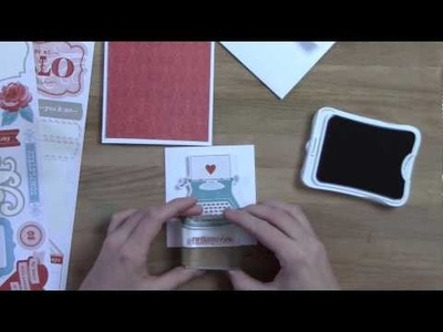 EASY DIY Valentines Card or Thinking of You Handmade Card