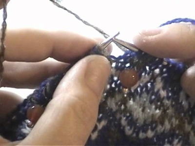 Fair Isle Knit Along Part 4: Making the Underarm Gusset: Part 1