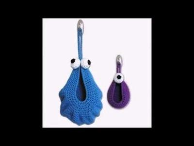 Hanging Monster Baskets - Crochet Pattern Presentation