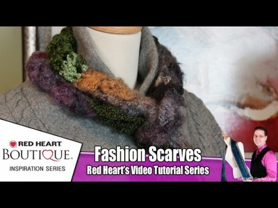 How to Crochet Spectrum Fashion Scarf