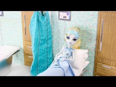 How to Make a Doll Hospital Room - Doll Crafts