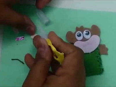 How to make a Finger Puppet from waste - Art and Craft