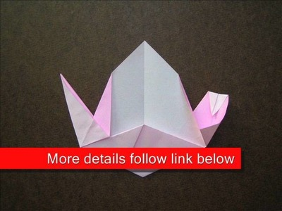 How to Make an Origami Peach