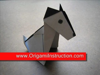 How to Make an Origami Puppy Dog