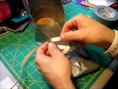 How to make Duct tape shoes Part 2