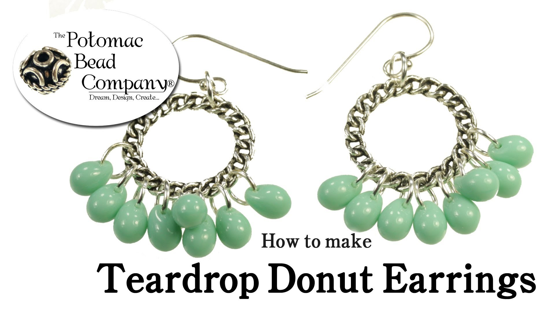 How to Make Easy Donut & Drop Earrings