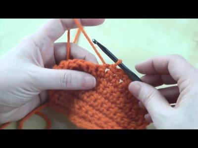 How to: Slip Stitch (sl st)