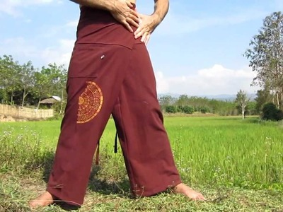 How to Tie - Thai Fisherman Wrap Pants
