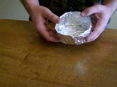 Improvised Foil Pot