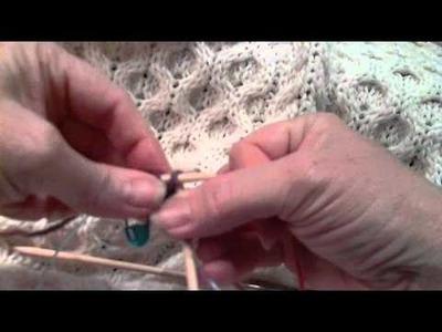 Judi's magic cast on with circular needles.