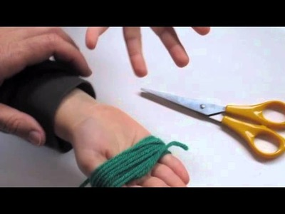 Kids Crafts - How to Make a Tassle