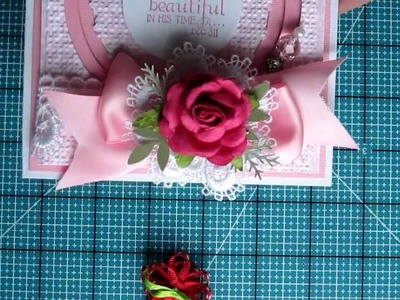 Lace Collar Paper Craft Embellishment