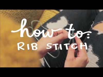 Learn To Crochet: How To Single Crochet & Rib Stitch