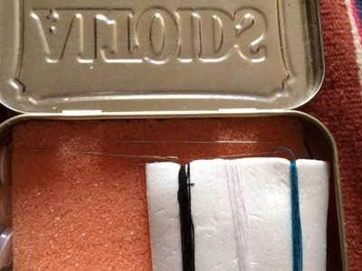 Make a Handy Altoid Emergency Sewing Kit - DIY Crafts - Guidecentral