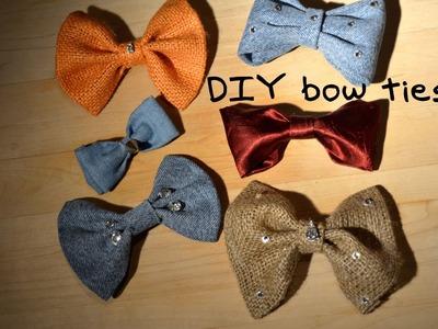 Mr. Kate Bow DITie (DIY Bow Tie)