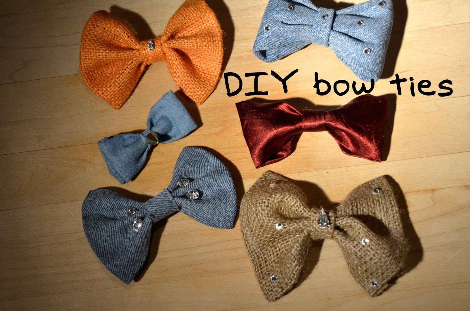 Mr. Kate Bow DITie (DIY Bow Tie)