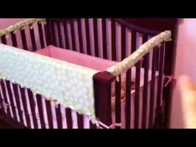 No Sew Homemade Crib Rail Teething Guard DIY