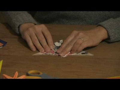 Origami & Paper Crafts : How to Make Paper Butterflies