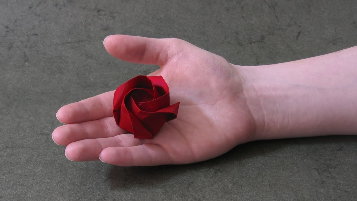 Origami Instructions: Rose of Roses (Jordi Adell)