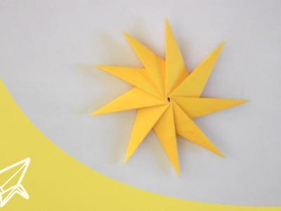 Origami spinning Star