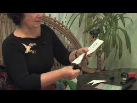 Paper Crafts  : How to Make a Christmas Angel From Paper