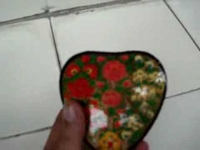 Paper Mache Box, Paper Craft, Christmas Gift, Kashmir Craft,