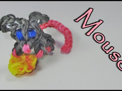 Rainbow Loom Charms: MOUSE: How to Design. Tutorial (DIY Mommy)