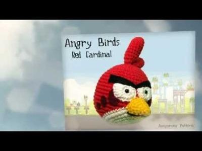 Red Bird Amigurumi Crochet Pattern