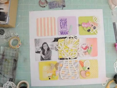 Scrapbooking Tutorial: How to scrapbook when you have zero mojo.  by Wilna Furstenberg