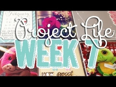 SP Episode 364: Week 7 Project Life Scrapbook Process Video using Gossamer Blue & Studio Calico Kits