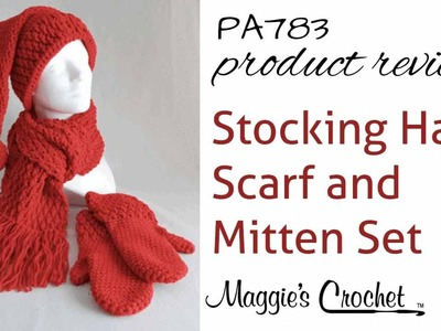 Stocking Hat, Scarf and Mitten Set - Product Review PA783