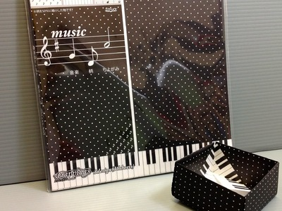 Toyo Music Notes and Piano Chiyogami Origami Paper Unboxing!